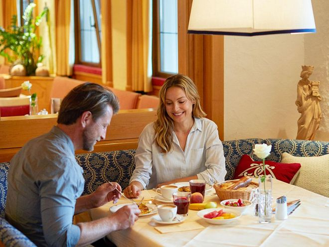 Choose from the wide range of teas at Hotel Hochschober