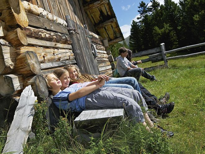 Holidays with the family in Carinthia © Turracher Höhe Steinthaler