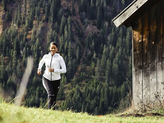 The terrain at Turracher Höhe is ideal for running © Best Alpine Wellness Hotels