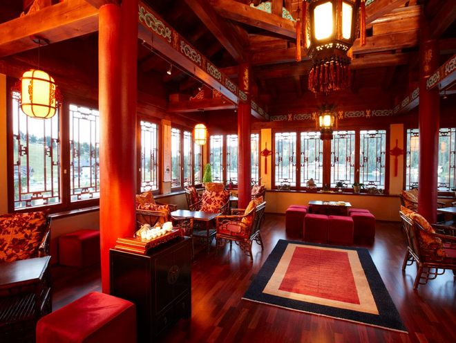 Drink Chinese Tea and experience the Tea Ceremony at Hotel Hochschober