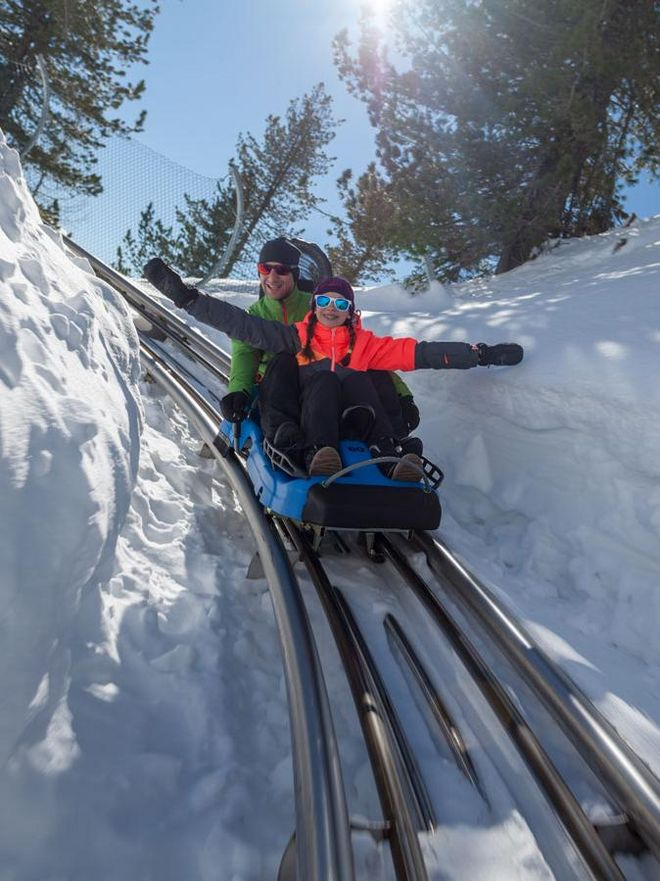 Fun for all ages with the Nocky Flitzer in winter time © Turracher Höhe Attisani