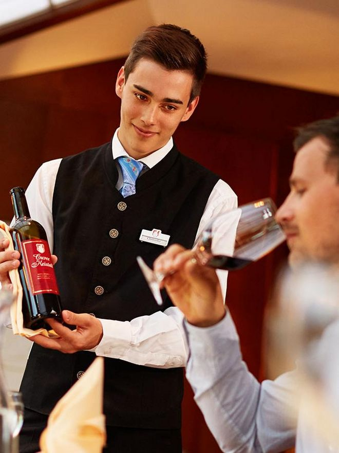 All about fine wines in the Hotel Hochschober