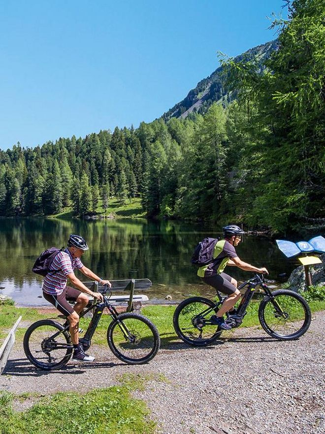 The new mountain bike routes at Turracher Höhe are true pleasure routes