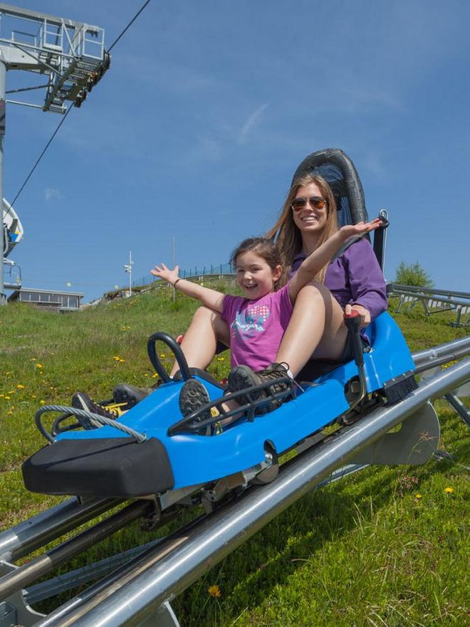 Fun for the family while driving with the Nocky Flitzer at the Turracher Höhe © Turracher Höhe Attisani