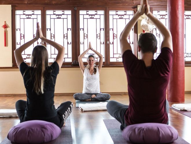 Learn or perfect your yoga skills at the Hotel Hochschober