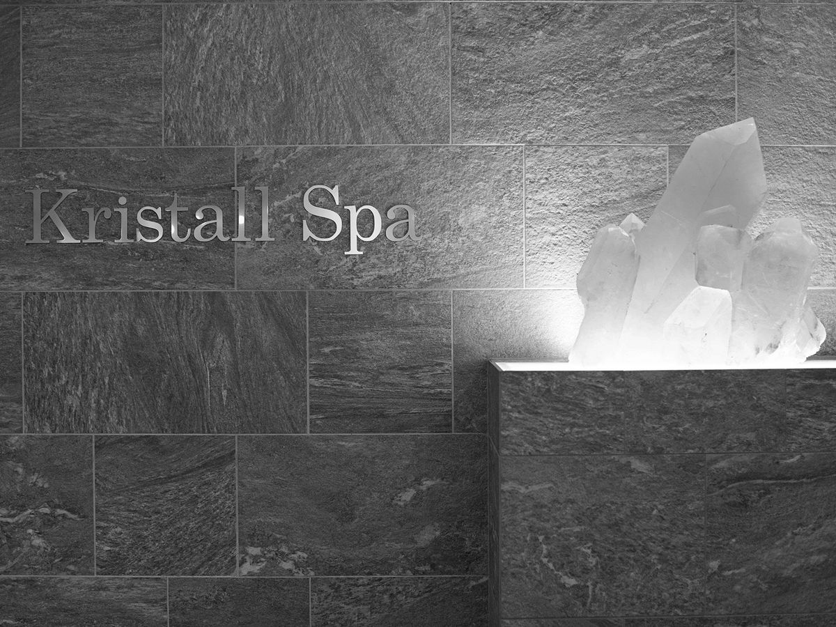 Relaxation at the Crystal spa