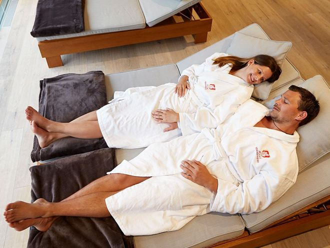Relax together in the relaxation room of the Hotel Hochschobers