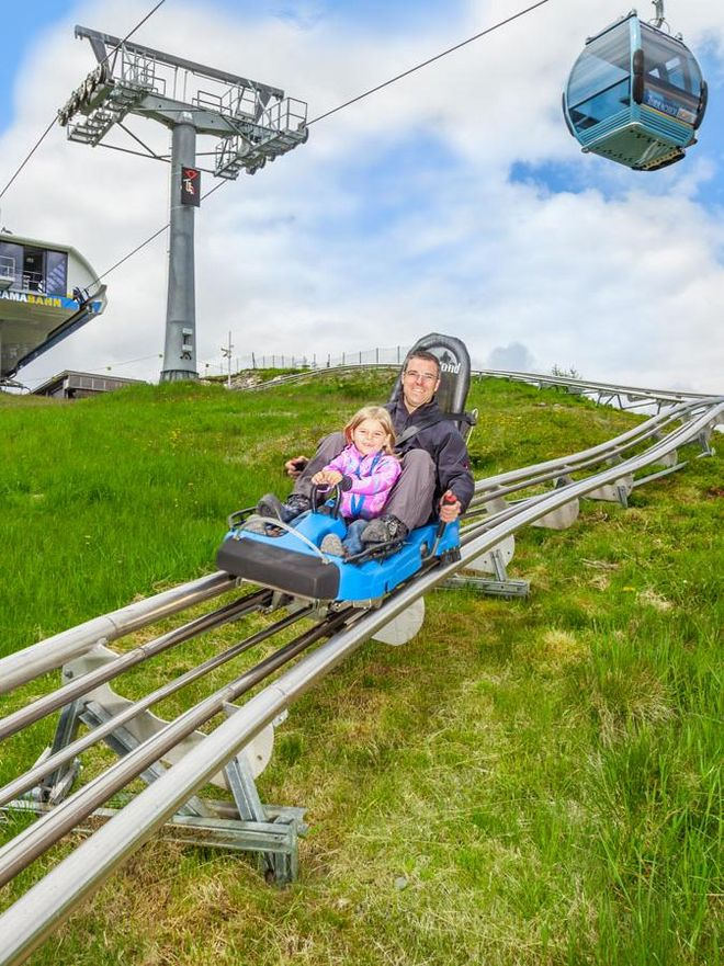Riding with the Nocky Flitzer at the Turracher Höhe in summer © Turracher Höhe Attisani