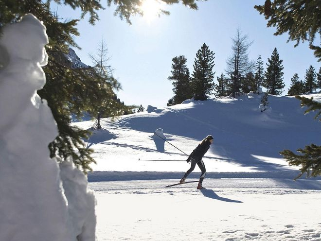 Snow-sure cross-country ski runs in the enchanting landscape around the Hotel Hochschober © Turracher Höhe
